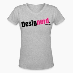 Design Nerd (Female) Women's T-Shirts