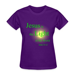 light of the world - Women's T-Shirt