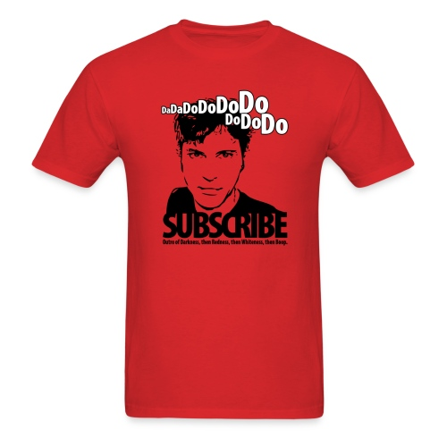 Da da do do do do do do do, Subscribe. - Men's T-Shirt