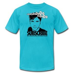 Da da do do do do do do do, Subscribe. - Men's Fine Jersey T-Shirt