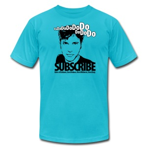 Da da do do do do do do do, Subscribe. - Men's T-Shirt by American Apparel