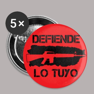 RED 1 DEFIENDE M16 BUTTON - Small Buttons