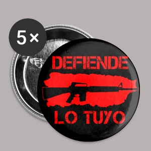 BLACK 1 DEFIENDE M16 BUTTON - Small Buttons