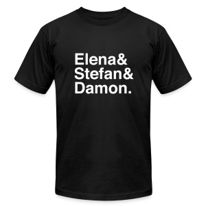 Vampire Diaries - Men's T-Shirt by American Apparel