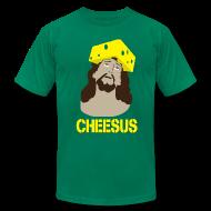 T-Shirts ~ Men's T-Shirt by American Apparel ~ Cheesus [M]