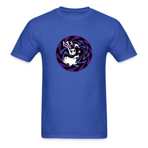Rabbit Hole-Purple - Men's T-Shirt