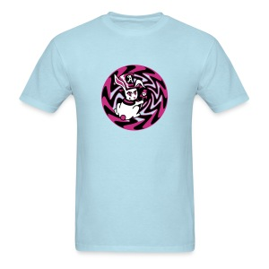 Rabbit Hole-Magenta - Men's T-Shirt