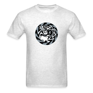 Rabbit Hole-Silver - Men's T-Shirt