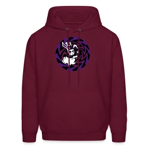 Rabbit Hole-Purple - Men's Hoodie
