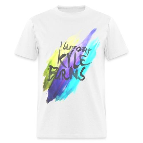 I Support Kyle Burns Splatter T-Shirt  - Men's T-Shirt