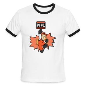 POWE - Men's Ringer T-Shirt