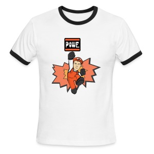 POWE - Men's Ringer T-Shirt