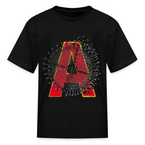 A Initial ABC Shirt - Name - Letter Fashion Design - Birthday - Gift - Kids' T-Shirt