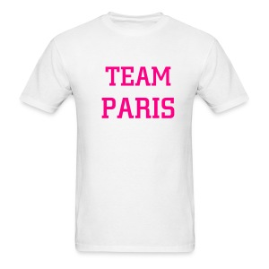 Team Paris Neon Pink - Men's T-Shirt