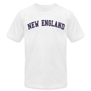 New England Men's American Apparel Tee - Men's Fine Jersey T-Shirt
