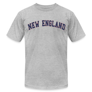 New England Men's American Apparel Tee - Men's T-Shirt by American Apparel