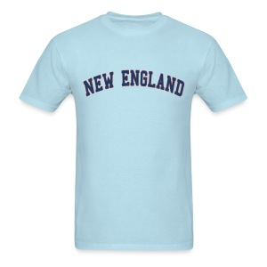 New England Men's Standard Weight T-Shirt - Men's T-Shirt