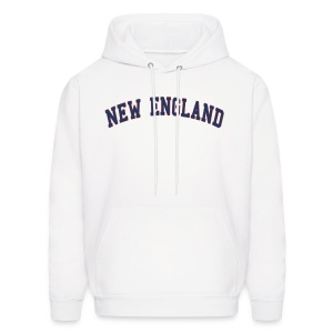 New England Men's Hooded Sweatshirt - Men's Hoodie