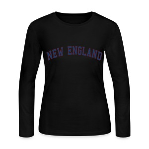 New England Women's Long Sleeve Jersey Tee - Women's Long Sleeve Jersey T-Shirt