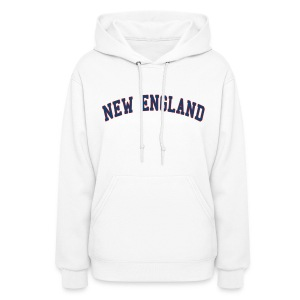 New England Women's Hooded Sweatshirt - Women's Hoodie
