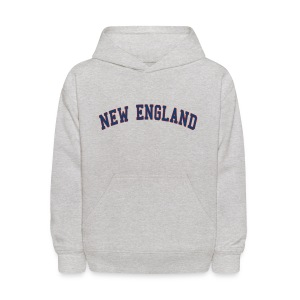 New England Kid's Hooded Sweatshirt - Kids' Hoodie