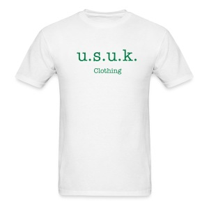 u.s.u.k. Logo - Men's T-Shirt