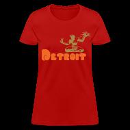 Women's T-Shirts ~ Women's T-Shirt ~ Spirit of Detroit Women's Standard Weight T-Shirt