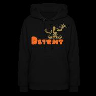 Hoodies ~ Women's Hoodie ~ Spirit of Detroit Women's Hooded Sweatshirt
