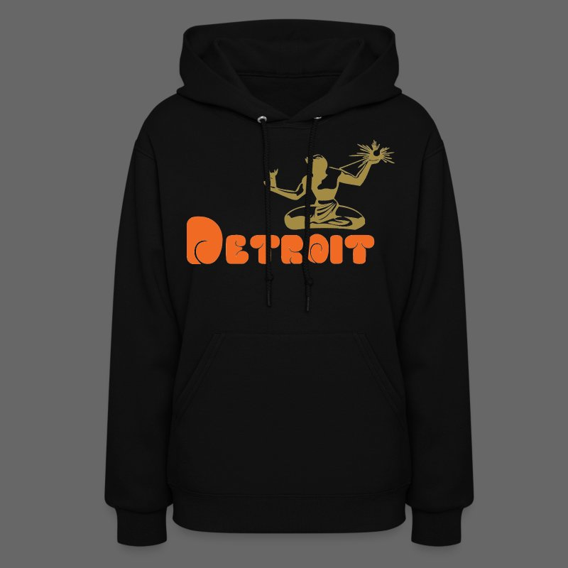 Spirit of Detroit Women's Hooded Sweatshirt - Women's Hoodie