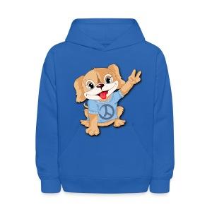 Peace Puppy - Kids' Hoodie