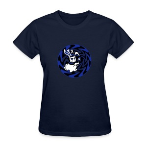 Rabbit Hole-Blue - Women's T-Shirt