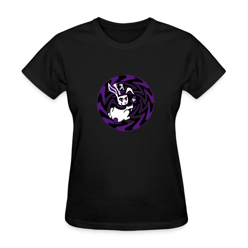Rabbit Hole-Purple - Women's T-Shirt