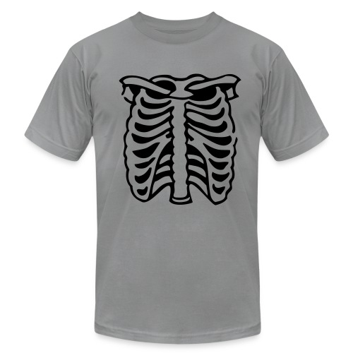 Skeleton Black - Men's Fine Jersey T-Shirt