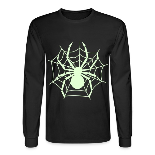 Spider - Glow in the Dark T-Shirt - Men's Long Sleeve T-Shirt