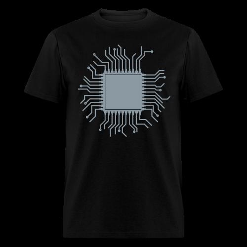 100%COTTON SILVER REFLECTIVE T-SHIRT - Men's T-Shirt