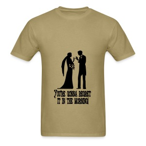 Marriage Mistake - Men's T-Shirt