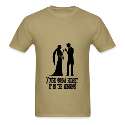 Marriage Mistake - Men's T-Shirt