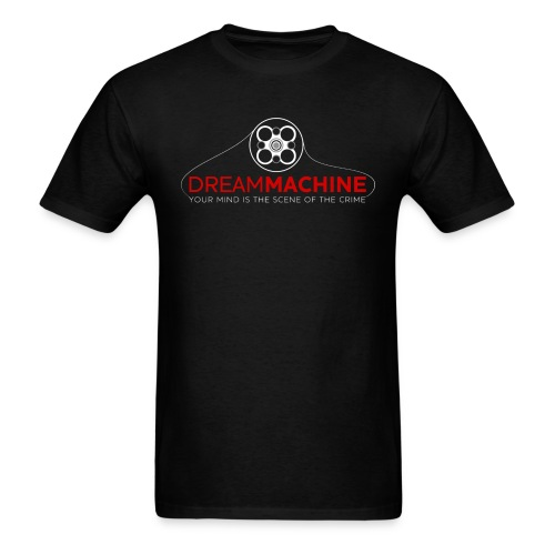 Dream Machine (Men) w/ URL on Back - Men's T-Shirt