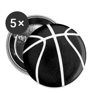 BBall Buttons - Small Buttons