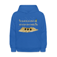 Sweatshirts ~ Kids' Hoodie ~ Three Wise Men