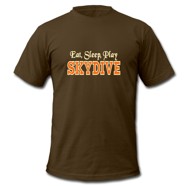 Eat Sleep Play Skydive T-Shirts