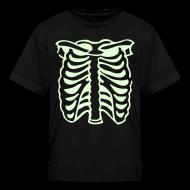 Kids' Shirts ~ Kids' T-Shirt ~ SKELETON X-RAY Glow-in-the-Dark Toddler