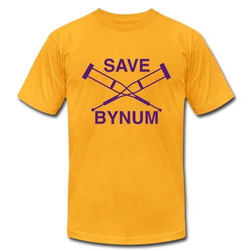 Save Bynum - Men's Fine Jersey T-Shirt