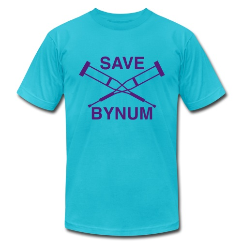 Save Bynum - Men's  Jersey T-Shirt