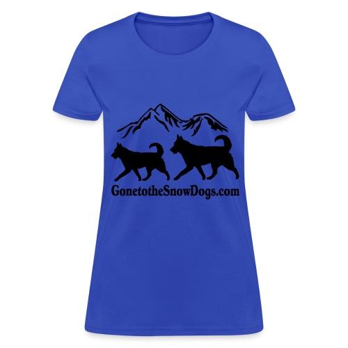 Two Huskies Women's T-Shirt - Women's T-Shirt