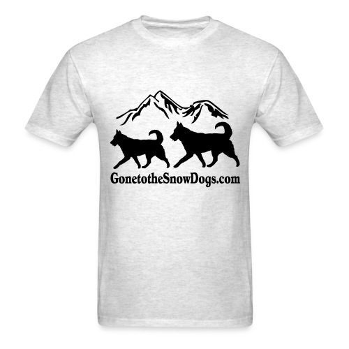 Two Huskies Men's T-Shirt - Men's T-Shirt