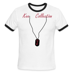 KeeCollection: Dog Tag  - Men's Ringer T-Shirt