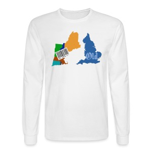 New and Old Men's Long Sleeve Tee - Men's Long Sleeve T-Shirt