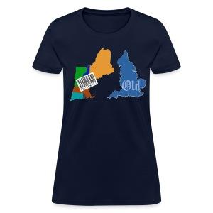 New and Old Women's Standard Weight T-Shirt - Women's T-Shirt