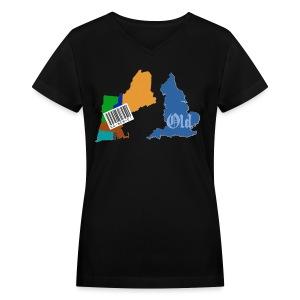 New and Old Women's V-Neck T-Shirt - Women's V-Neck T-Shirt